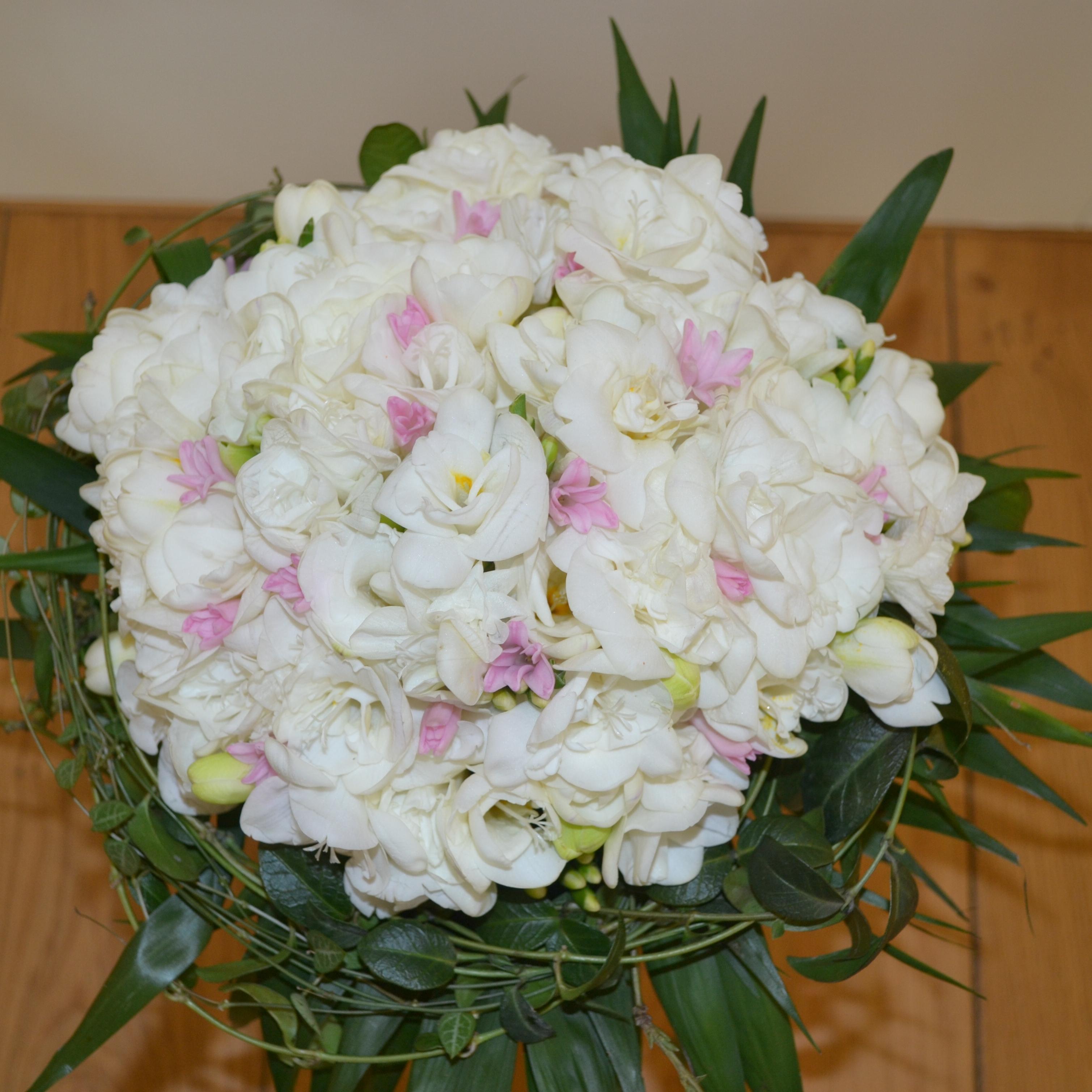 svatební kytice zimní královna